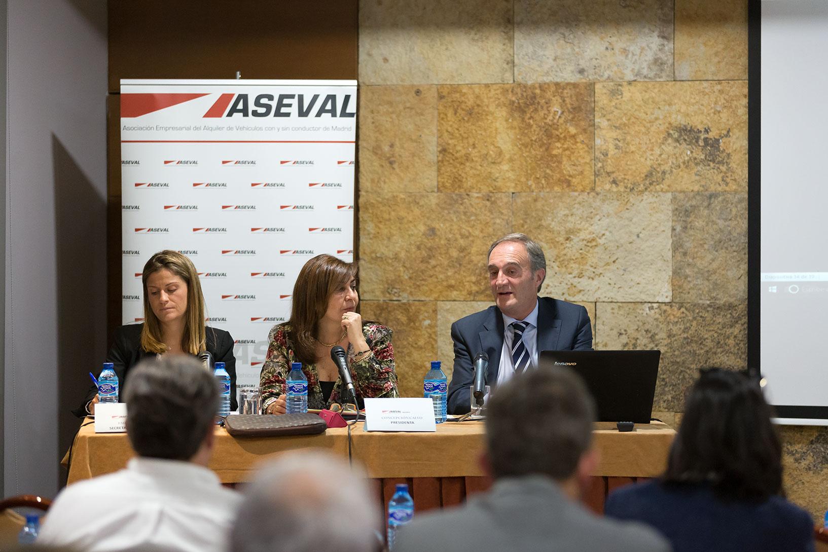 Se ha celebrado la 40 asamblea anual de ASEVAL Madrid