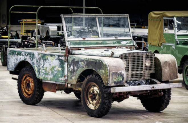 Land Rover encuentra su primer coche de la historia