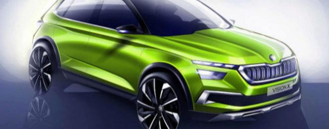 Skoda Vision X: El SUV pequeño de la marca checa llegará a motor híbrido