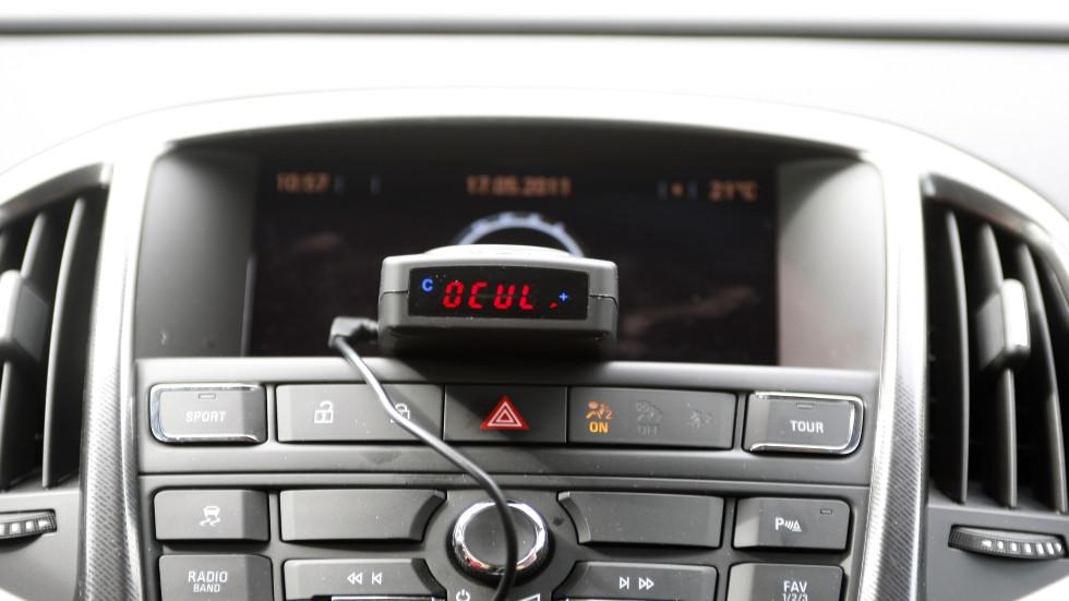 Detectores e inhibidores de radar: las multas que te ponen si los llevas