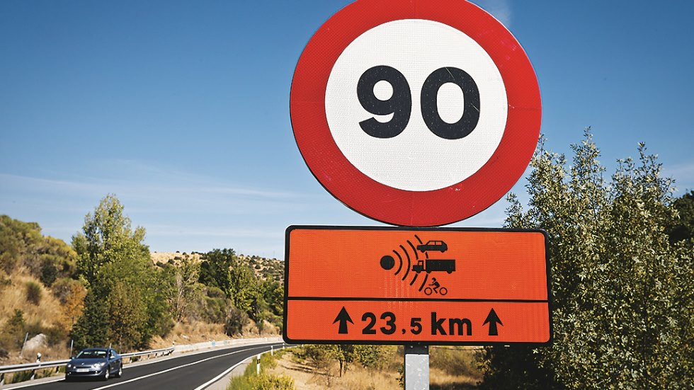 La DGT bajará los límites de velocidad en enero