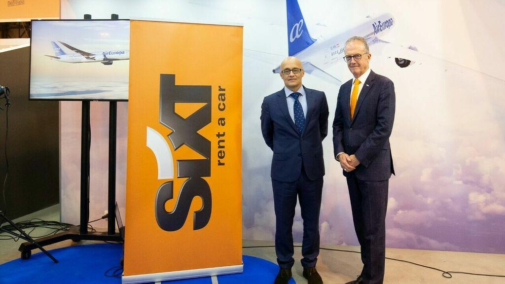 Los clientes de Air Europa SUMA acumularán millas al alquilar un coche con SIXT