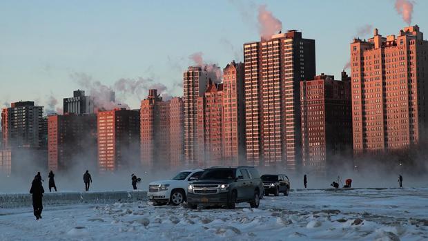 La «superola» de frío, amenaza extrema para los coches
