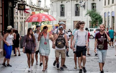 El saldo por turismo en España cae casi un 2% en el arranque de año