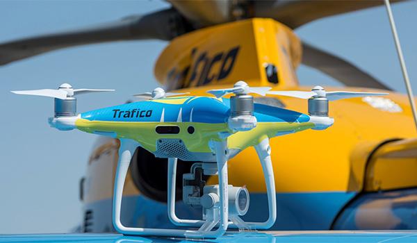 Oficial: los drones de la DGT ya están siendo usados para multar