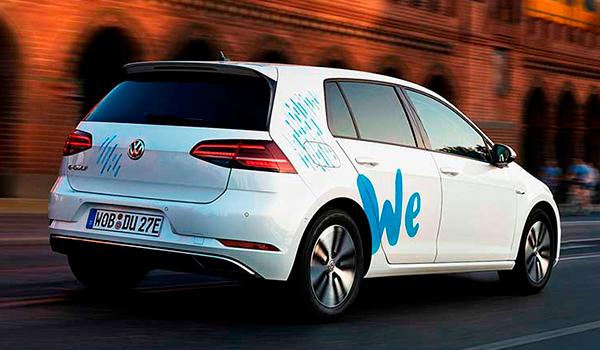 WeShare: Volkswagen se lanza al mercado de alquiler de coches eléctricos