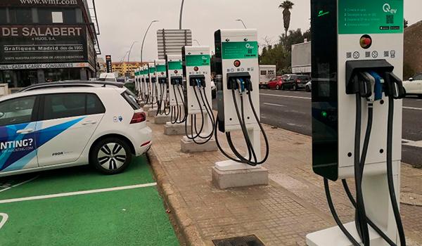 Mallorca tendrá en marzo una electrolinera cada 20 kilómetros para recargar coches eléctricos
