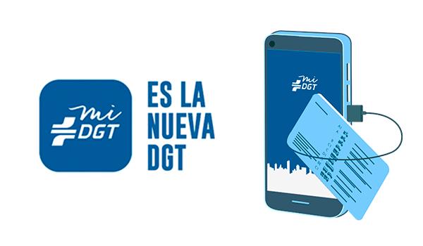 La nueva DGT – App miDGT – Tu móvil, tu permiso de conducir