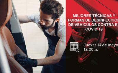 Webinar FENEVAL – Mejores técnicas y formas de desinfección de vehículos contra COVID-19