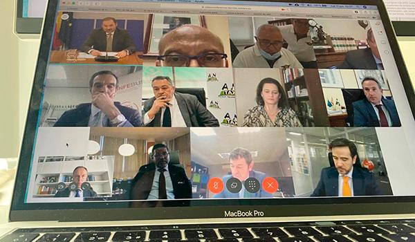 FENEVAL presente en el Pleno del Departamento de Viajeros de CNTC con el Ministro Ábalos