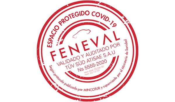 FENEVAL lanza su sello «Espacio protegido COVID-19»