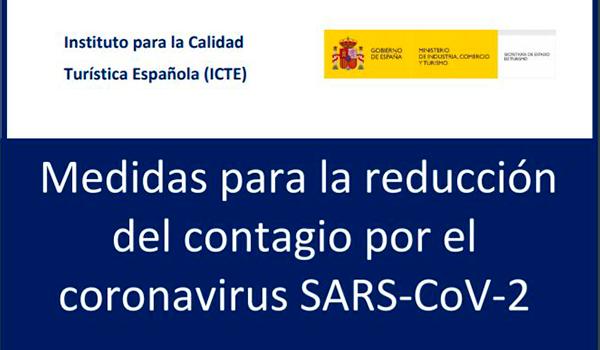 Medidas para la reducción del contagio por el Coronavirus SARS-COV-2