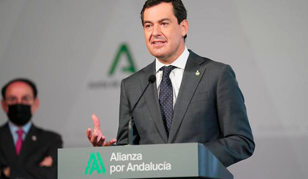 La petición de Moreno para «abrir la movilidad cuanto antes» en Andalucía