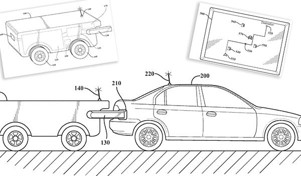 Toyota patenta un dron cisterna autónomo para el reabastecimiento del coche eléctrico o gasolina